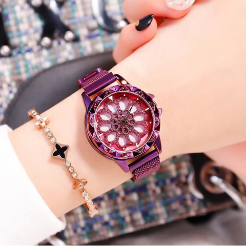 Image of 360Beautee™ Rotating Magnetic Flower Watch