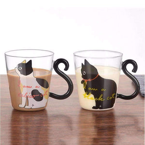 Adorable Kitty Glass