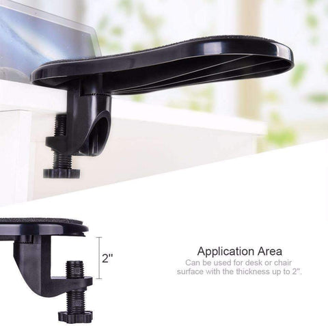 Armhero™- Ergonomic Computer Armrest With Mouse Pad