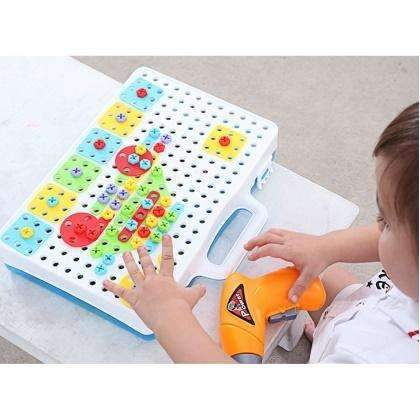 ConstructionDrill™ - Kids Educational Drill Puzzle Toy