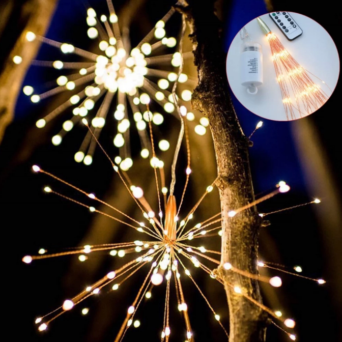 CopperSpark™ LED Firework Lights