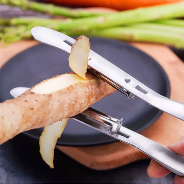 DualPeel™ Double-Sided Stainless Steel Peeler