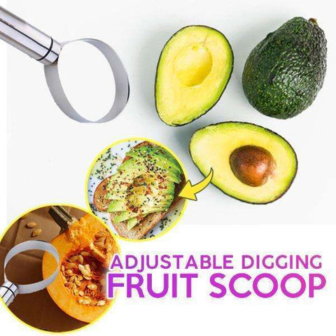 Image of EasyScoop™ - Adjustable Digging Fruit Scoop