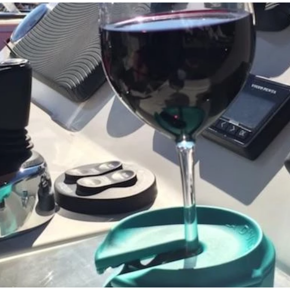 GlassGrip™ Wine Glass Silicone Holder