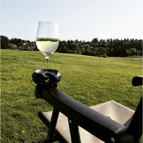 Image of GlassGrip™ Wine Glass Silicone Holder