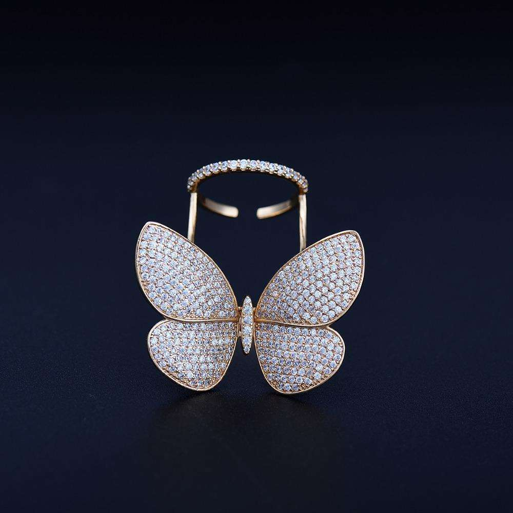 Icon™ - Movable Butterfly Ring
