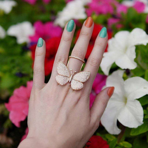 Image of Icon™ - Movable Butterfly Ring