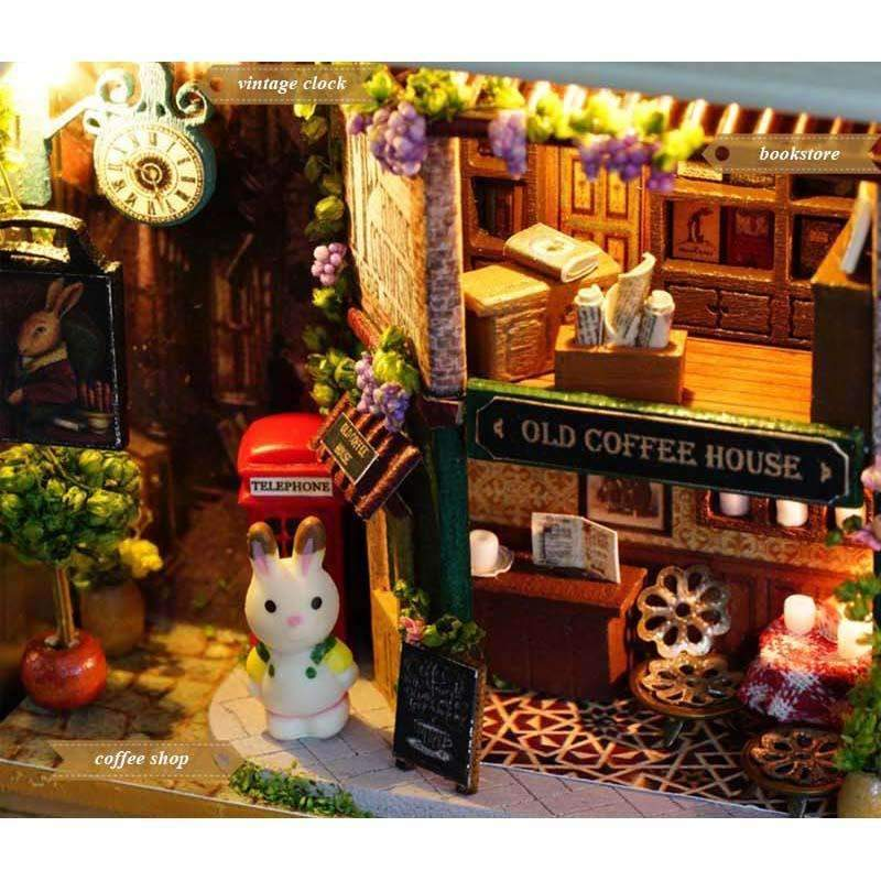 In A Happy Corner - DIY 3D Miniature Box Theatre Kit