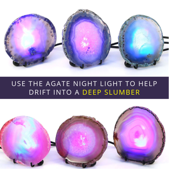 LightRock™ - Agate Mineral Rock Nightlight