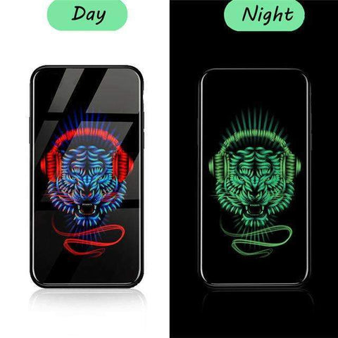 Limited Edition Luminous Tempered Glass iPhone Cases