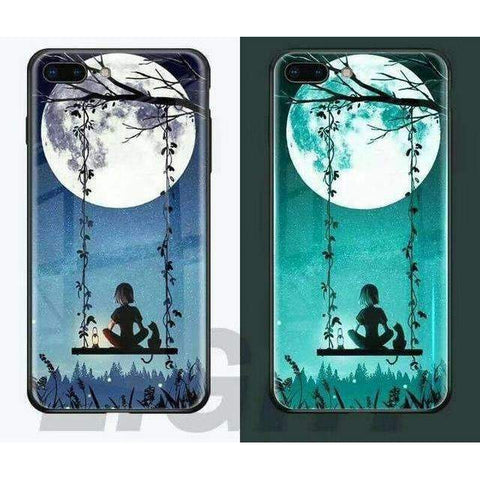 Image of Limited Edition Luminous Tempered Glass iPhone Cases