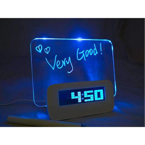 Image of Multi-Function Scribble Memo Board Alarm Clock