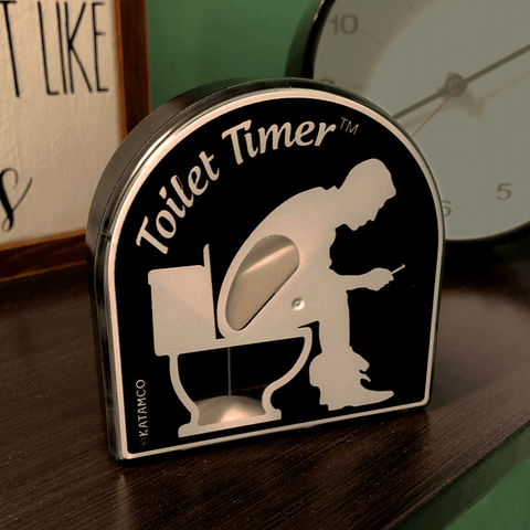 Image of PooRush™ Toilet Timer Classic