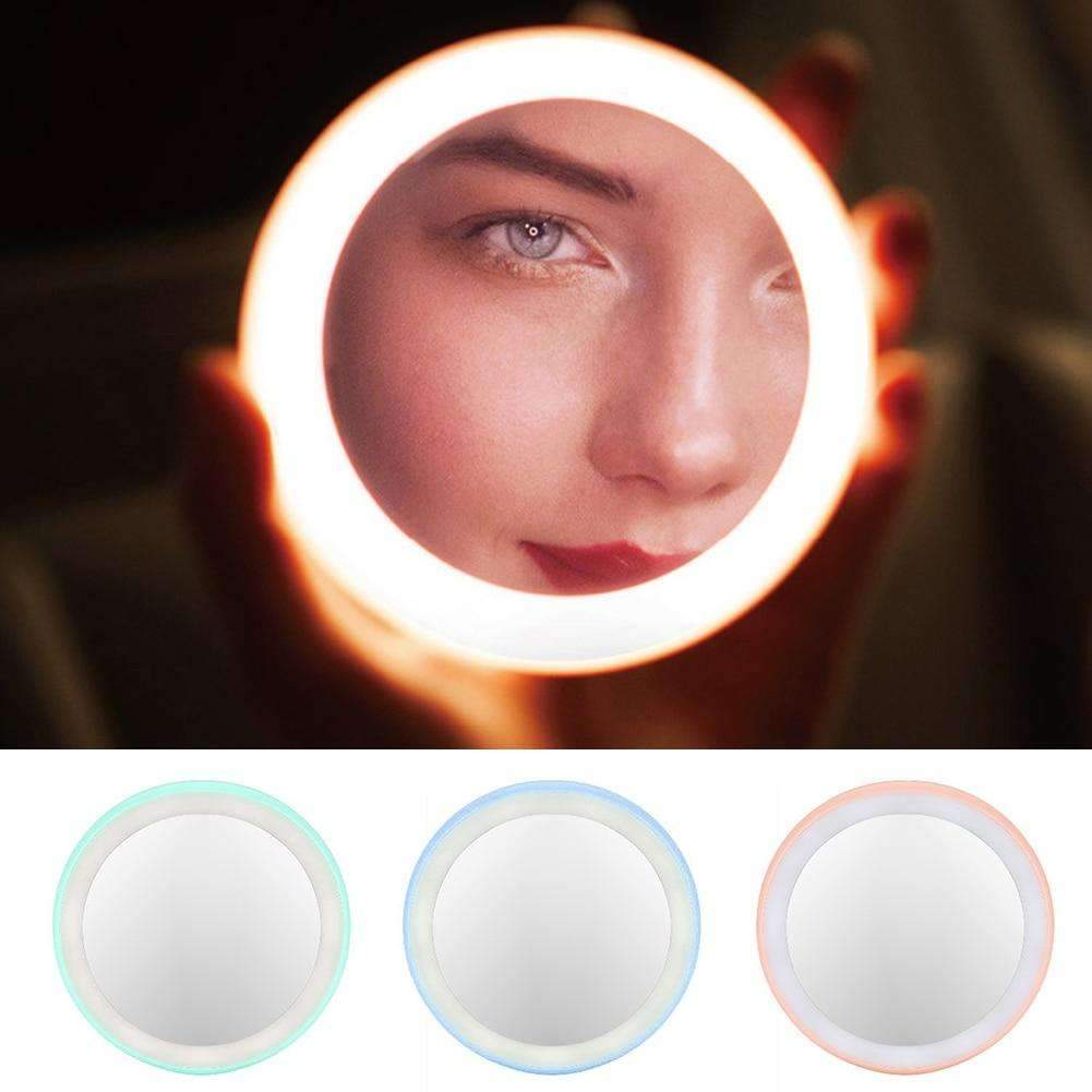 Portable Cosmetic Touch Mirror