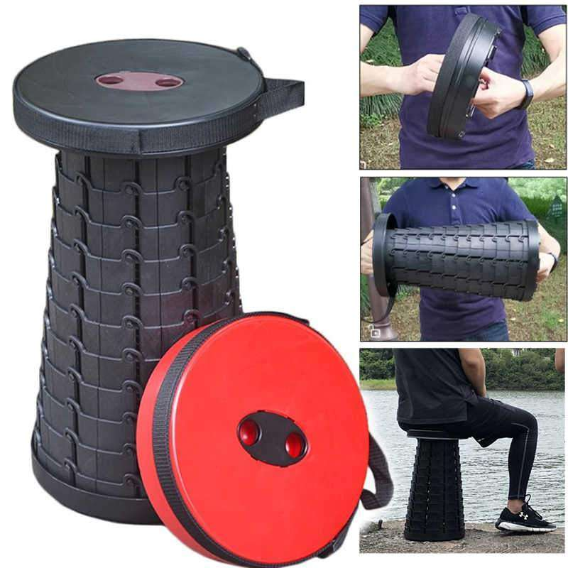 PortaMax™ Retractable Travel Stool