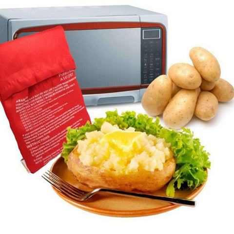 Image of PotatoExpress - Microwave Baked Potato Bag