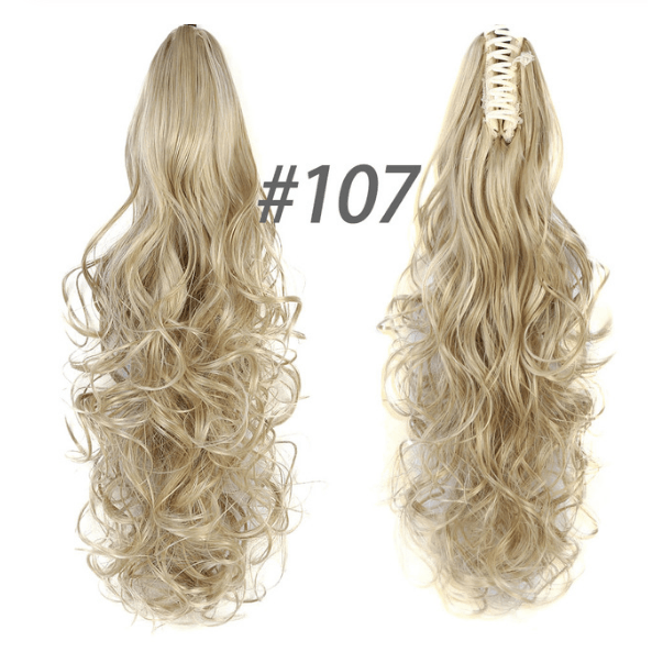 QuickPony™ Clip-On Ponytail Hair Extensions