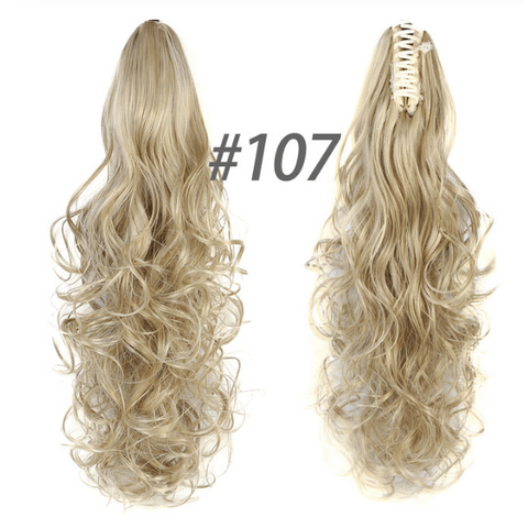 Image of QuickPony™ Clip-On Ponytail Hair Extensions