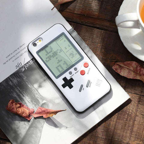 Image of Retro Gameboy iPhone Case