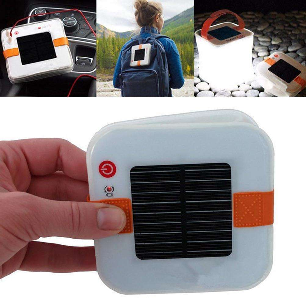 SolarGlow™ Inflatable Solar Lantern