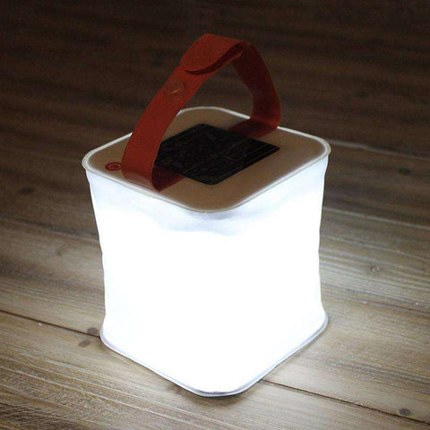Image of SolarGlow™ Inflatable Solar Lantern