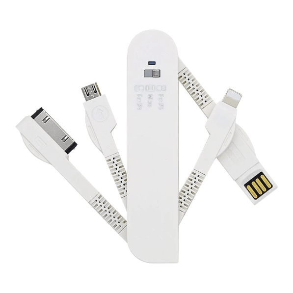 SwissCharge™ - 3-in-1 Swiss Knife Style Charger