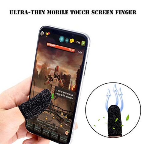 Image of Targette™ 1-pair Finger Sleeves For Mobile Gaming