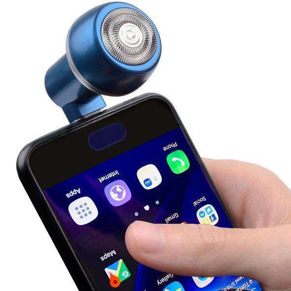 TimeShaver™ - Portable Smart Phone Shaver