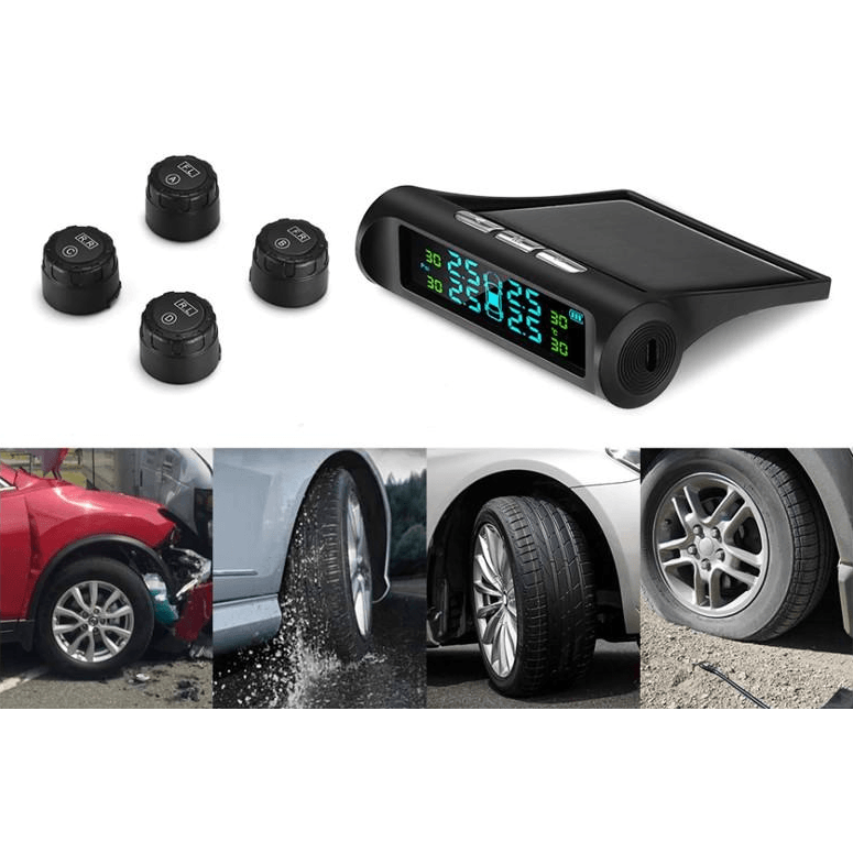 TireBuddy™ - Tire Pressure Monitoring Solar System