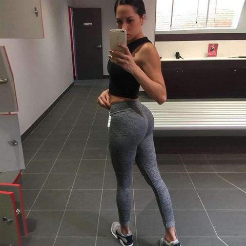 V-Waist Push Up Leggings