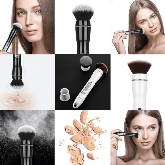 VanityTouch™ - Rechargeable Rotating MakeUp Brush