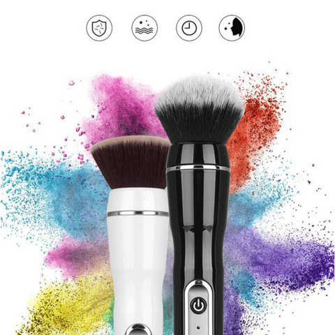 Image of VanityTouch™ - Rechargeable Rotating MakeUp Brush
