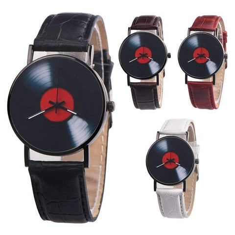 Image of Vinyl Record Quartz Wrist Watch