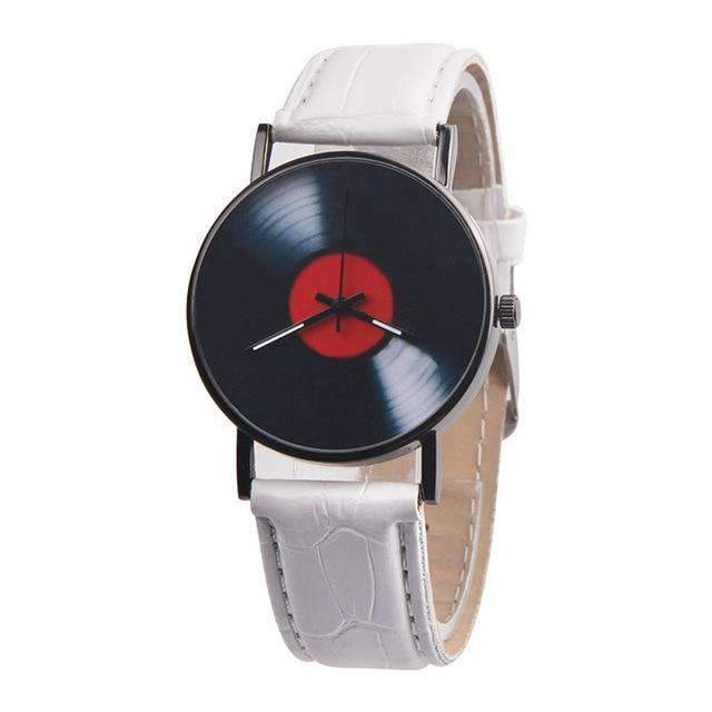 Vinyl Record Quartz Wrist Watch