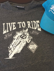 Short Sleeve T-Shirt - Live to Ride