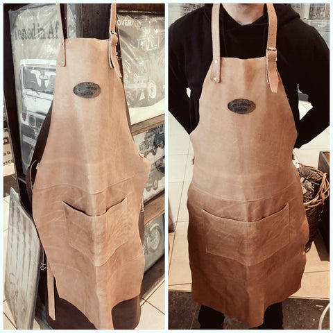 Real Leather Aprons
