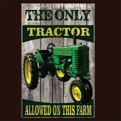 The Only Tractor Green