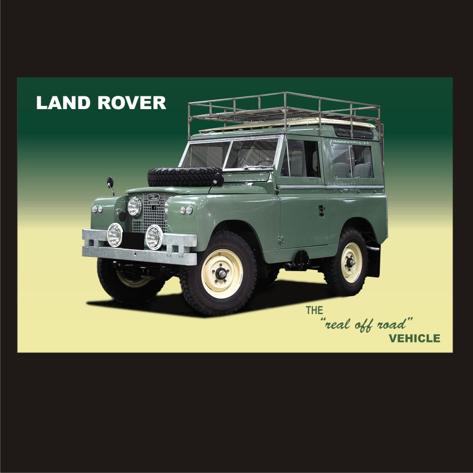 Land Rover The real off road vehicle