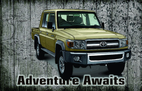 Landrover - Adventure Awaits
