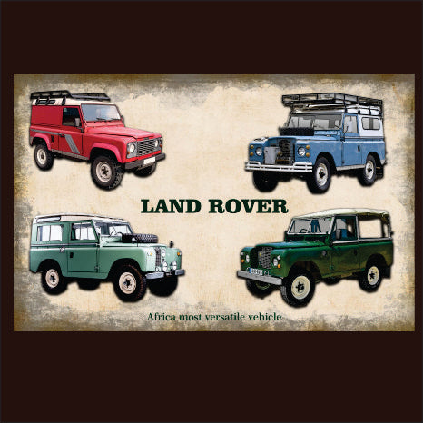 Land Rover Model Range