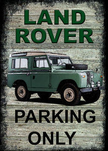 Landrover - Parking Only