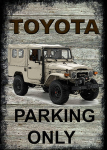 Toyota - Parking Only