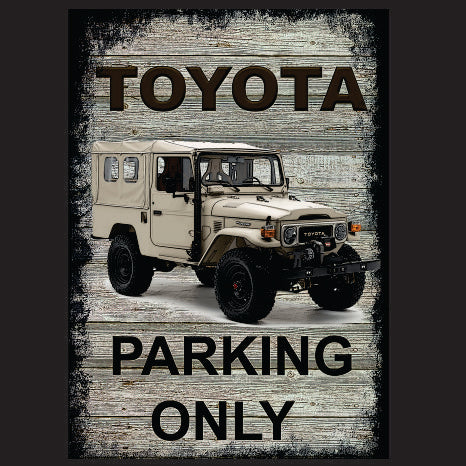 Toyota parking only