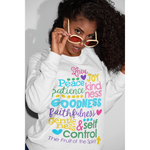 fruits of the spirit sweatshirt,womens