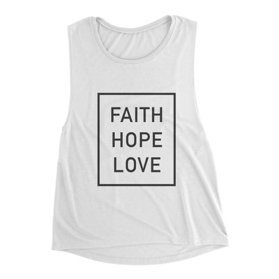 Faith Hope Love Women's Muscle Tank