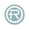 "Refine Outfitters ""R"" Logo Sticker (Light Blue)"