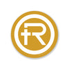 "Refine Outfitters ""R"" Logo Sticker (Gold)"