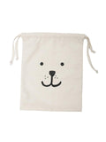 Small Fabric Bear Storage Bag