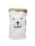 Paper Bear Storage Bag