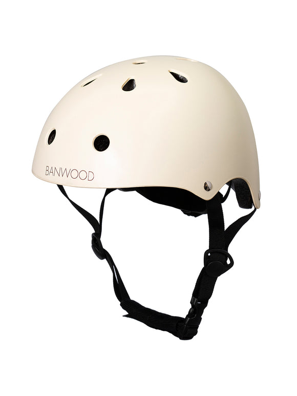 Bicycle Helmet - Matte Cream